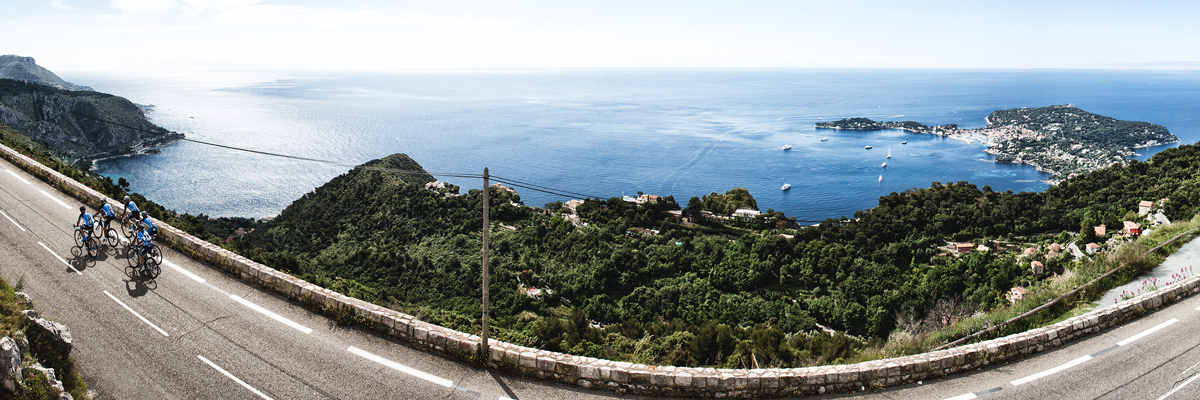 <h2>Stroll along the sea from Italy to the Esterel <br>through Monaco, Nice, Cannes ....</h2>